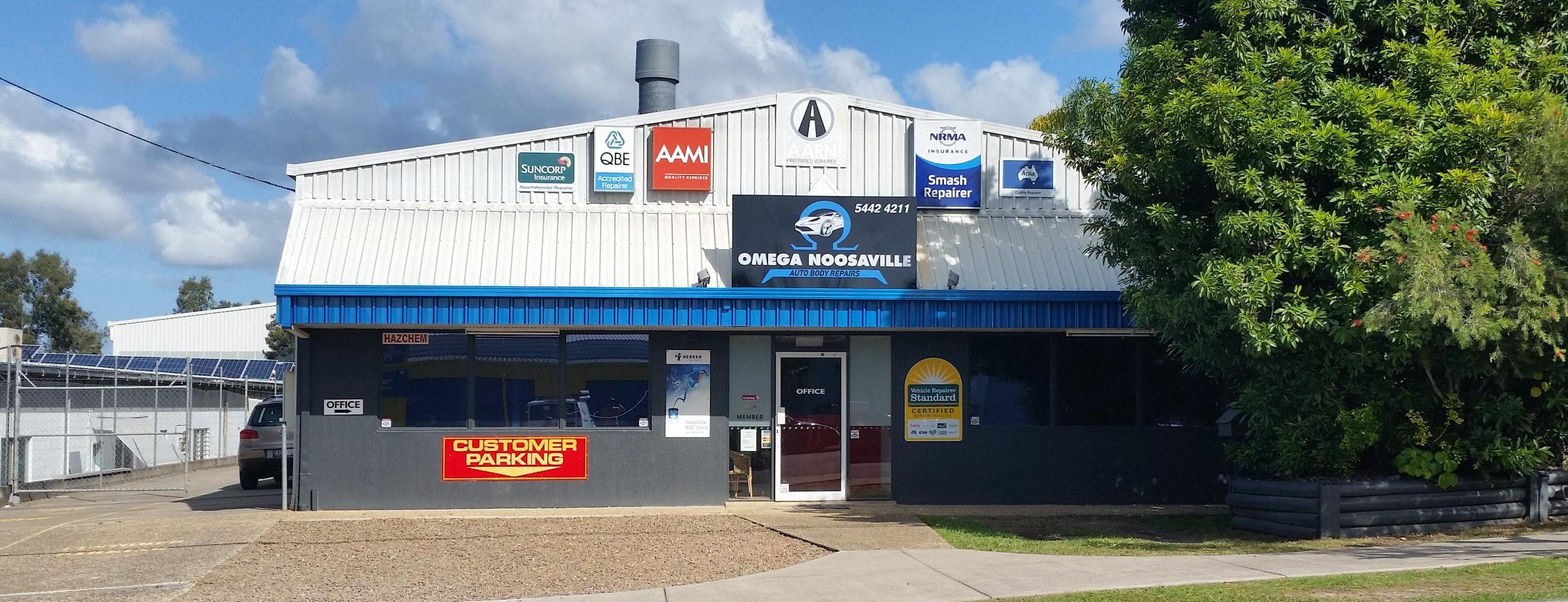 Omega Noosaville Auto Body Repairs